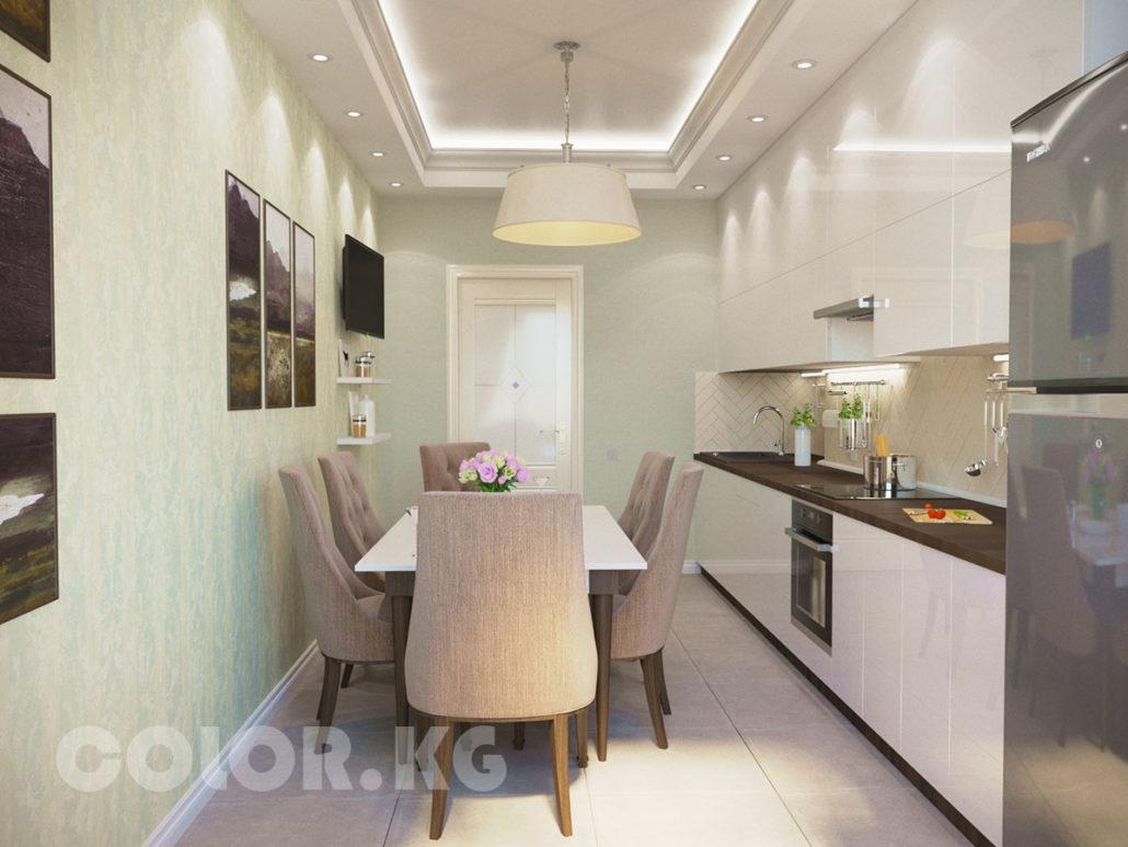 Дизайн 4х комнатной квартиры